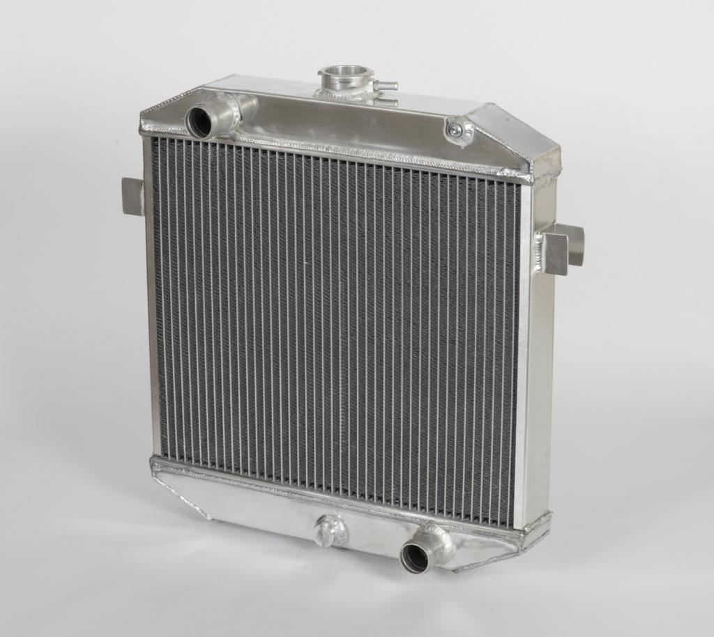 car radiator - aluminium