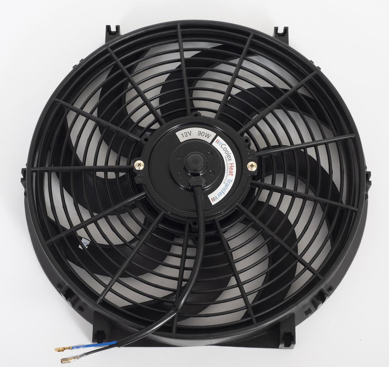 Universal 14 U0026quot  Inch 90w Car Radiator Electric Fan
